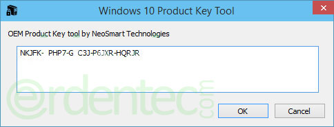 Finding Windows Product Key Embedded in BIOS