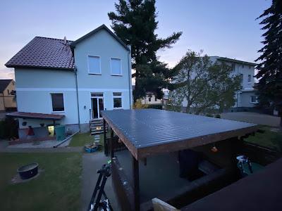 Neues Dach fertig gestellt
