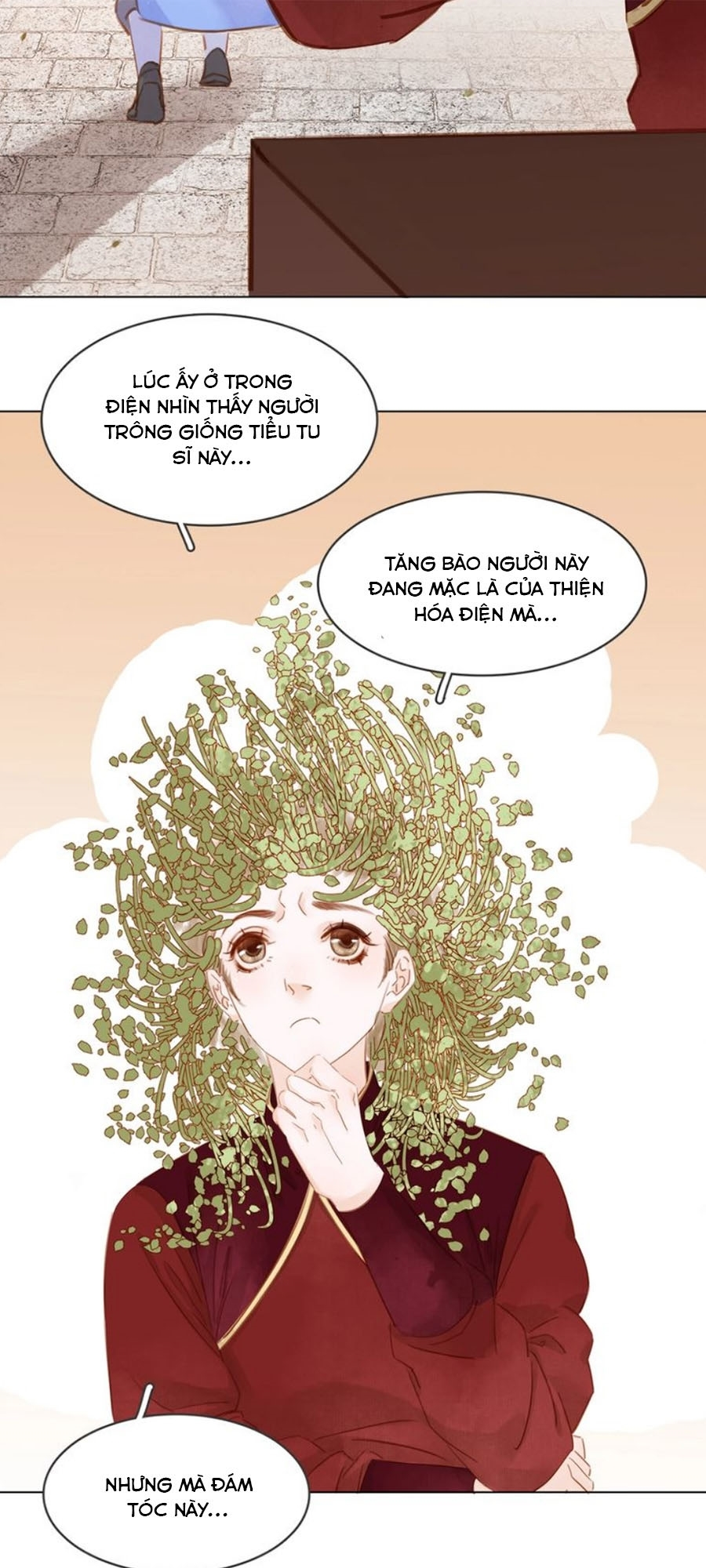 Tiểu sư phụ, tóc giả của ngài rơi rồi! chap 11 - Trang 18