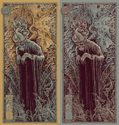 H.P. Lovecraft's The Call Of Cthulhu Screen Print by Godmachine x Mad Duck Posters