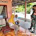 Babinsa Koramil 03/SS Kodim 0308/Pariaman Serda Fadli Fajar Himbau Masyarakat Selalu Terapkan Prokes
