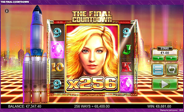 Main Gratis Slot Indonesia - The Final Countdown (Big Time Gaming)