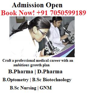 Direct Admission in B.Pharma , D.Pharma
