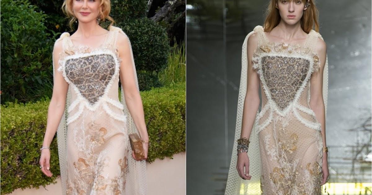 Nicole Kidman Balenciaga Wedding Dresses: Nicole Kidman In Rodarte At The 'Lion' 39th Mill Valley