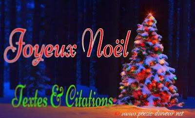 Cartes de vœux Joyeux Noël, avec textes et citations