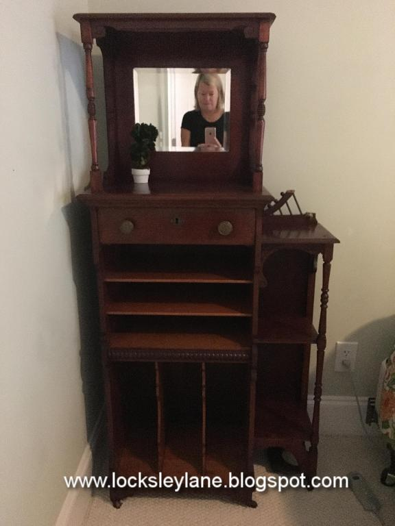 Locksley Lane Old Music Cabinet Meets Mackenzie Childs