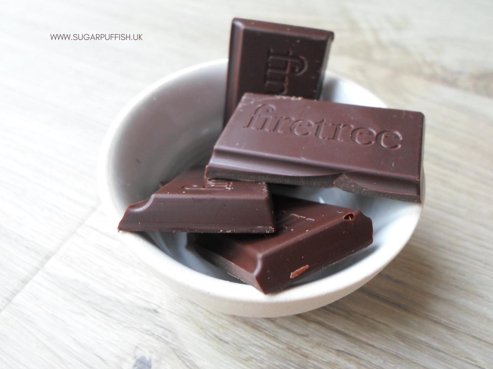 Firetree Rich Volcanic Chocolate dairy free, nut free and vegan