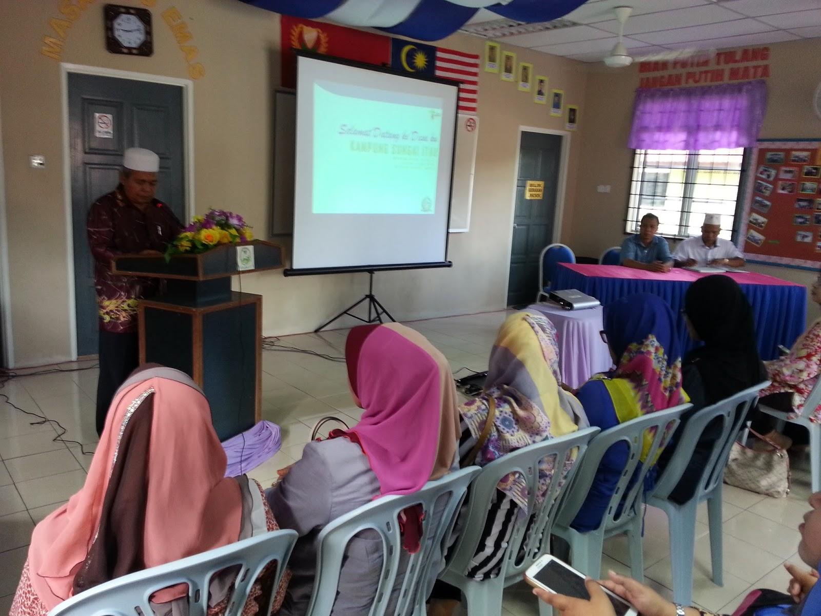 LAWATAN MUHIBAH JKKK KG PISANG, PERAK - Kampung Sungai Itau Langkawi