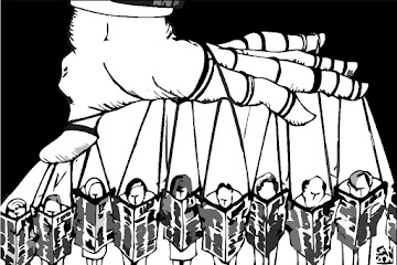 A Grande Mídia: O circo da manipulação e notícias falsas, e seu fascismo mental