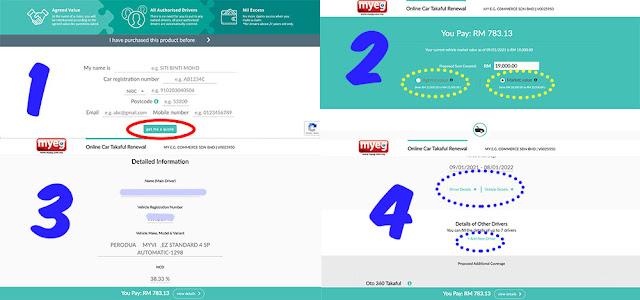 Beli insurans kereta etiqa online