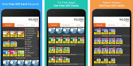 AppNana - Free Gift Cards