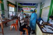 Personel Polsek Sanggau Ledo Mendapat Suntikan Vaksin Covid-19