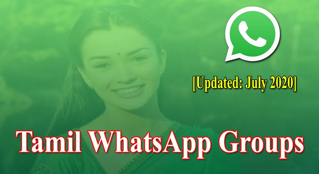 Tamil WhatsApp Group