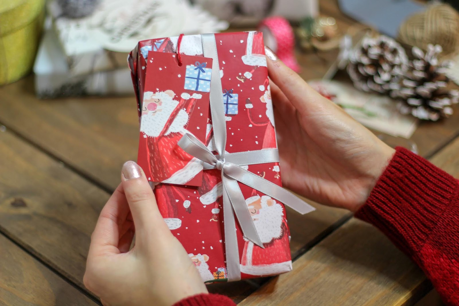 gift wrap ideas christmas santa claus