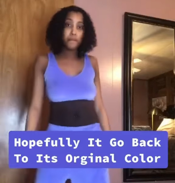 Shocking! See what Pregnancy did to a Mum stomach (Video)