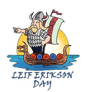 Leif Erikson Day Wishes For Facebook