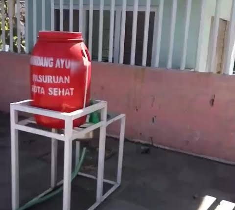 Bak Cuci Tangan Cegah Corona Isi 3 Bangkai Tikus, Pemkot Pasuruan: Orang Iseng