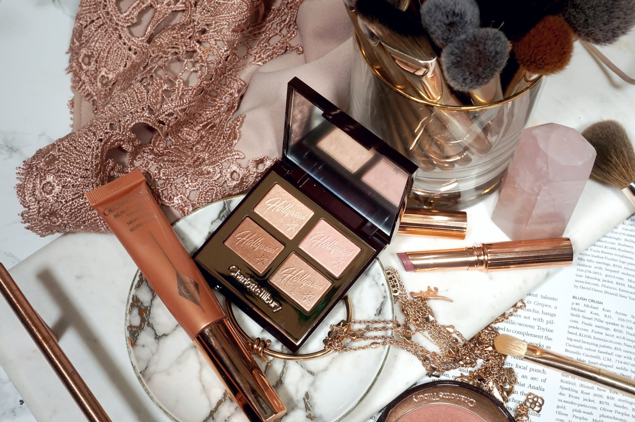 Charlotte Tilbury Hollywood Flawless Eye Filter in Star Aura Review and Swatches