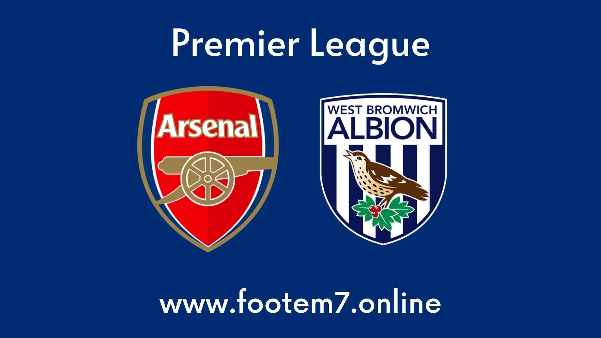 Arsenal vs West Brom