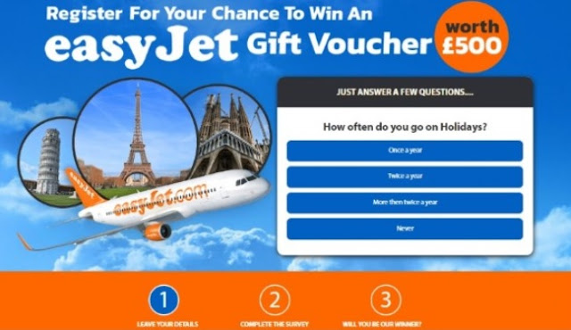Get an Easy Jet Gift Voucher Now