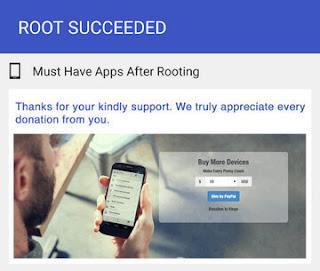 root succeeded