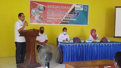 Gelar Sosialisasi Pendataan Keluarga BKKBN Sultra dan P2KB Buteng Bersinergi