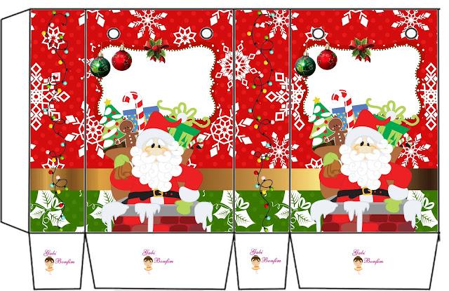 Funny Christmas: Free Printable Boxes.
