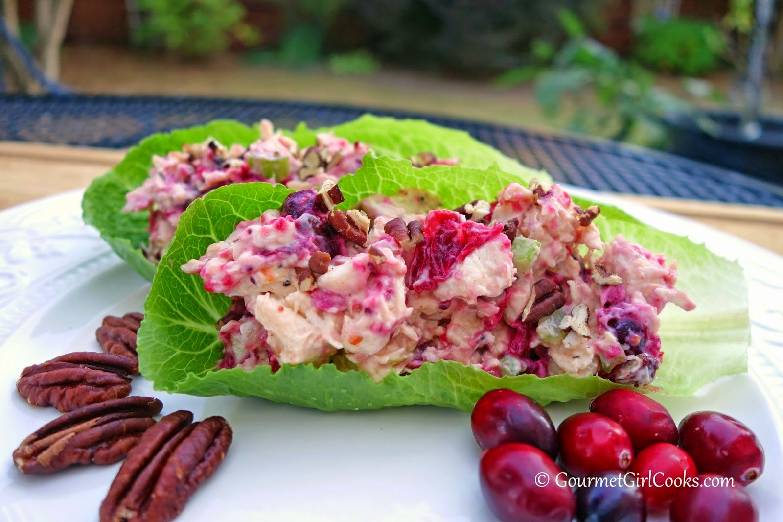 Chicken Salad w/ Cranberries & Pecans