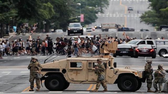 280 Pejabat Tinggi AS Menentang Trump Gunakan Kekuatan Militer untuk Tumpas Demonstran