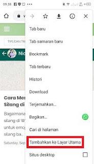 Cara Membuat Pintasan Google di Layar Utama Hp Android