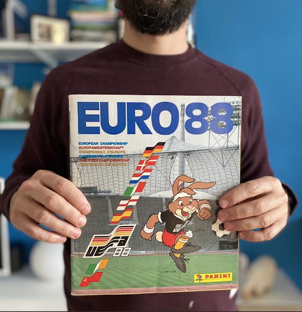 album panini euro 88