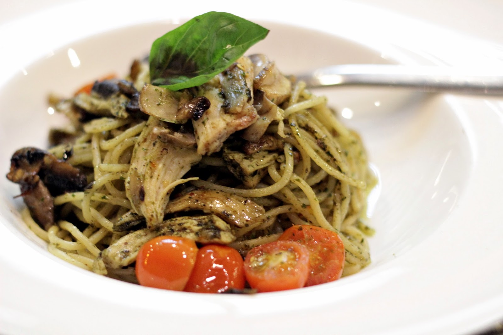 Image Result For Id Pesto Baked Chicken