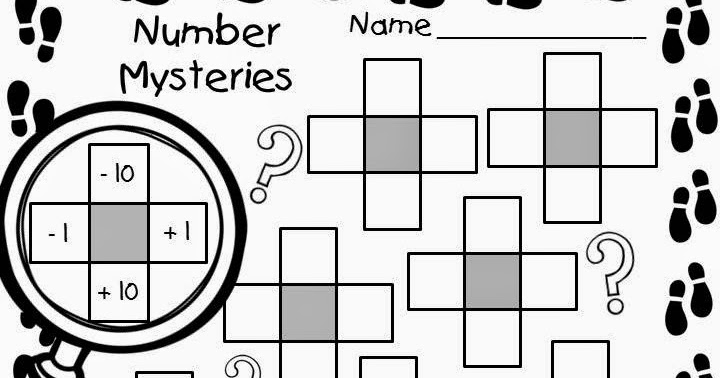 The Primary Techie: Number Mysteries for Math Detectives!