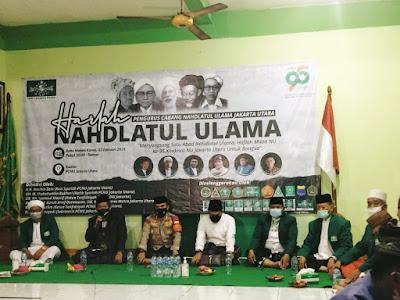 PEMUDA Batak Bersatu DPC Jakarta Utara Melayani & Membantu Acara MILAD NU Ke-95 Tahun  Di PCNU Jakarta Utara. Korantangsel.com
