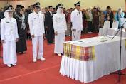 Kaswadi Lantik Empat Kades Terpilih Periode 2019-2025