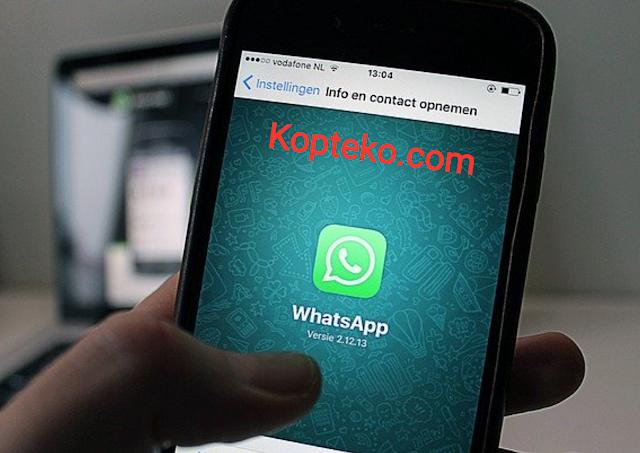 Cara Backup Chat Whatsapp ke Email