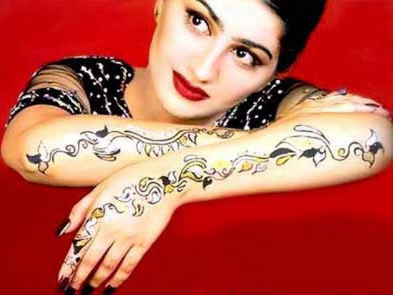 Pakistani Mehndi Tattoo Designs Women Pakistani