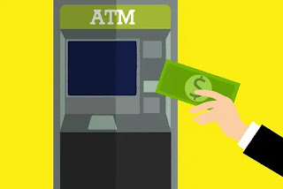 ATM मशीन के भौतिक पार्ट्स