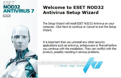 Antivirus NOD32 ESET Español Versión 7.0.317.4