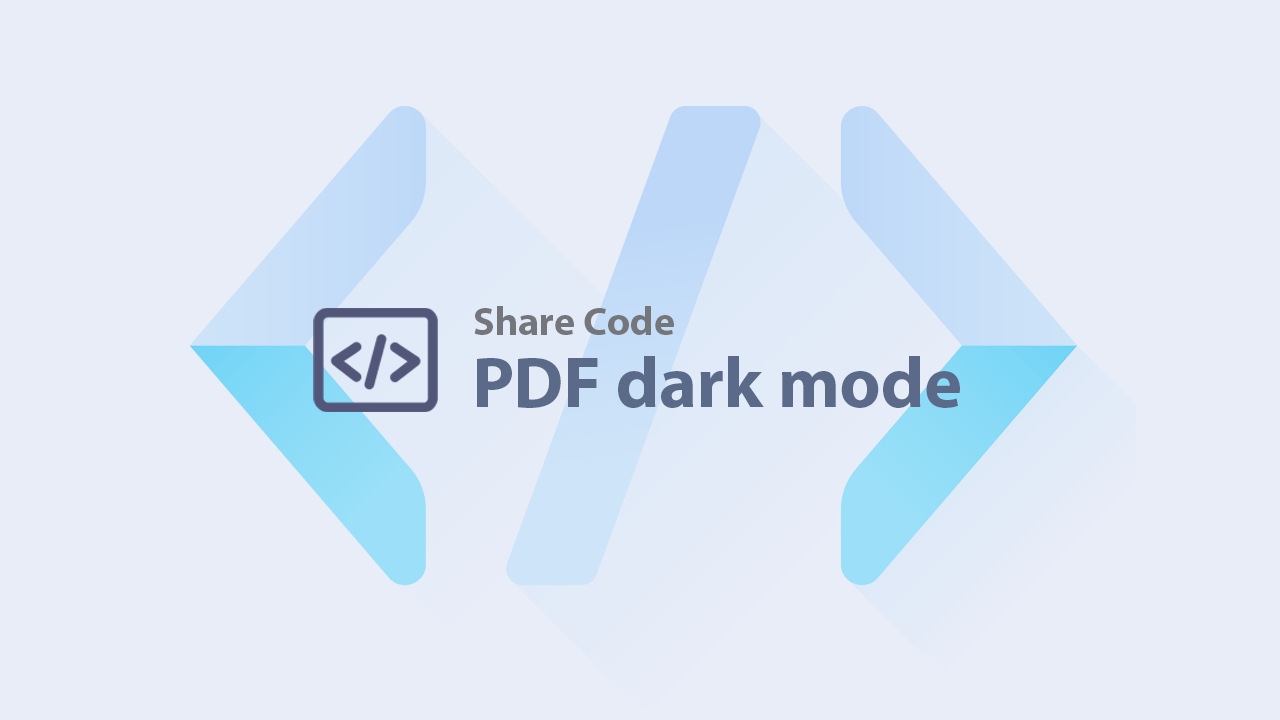 Hướng dẫn xem file PDF trên trình duyệt ở chế độ tối (dark mode)