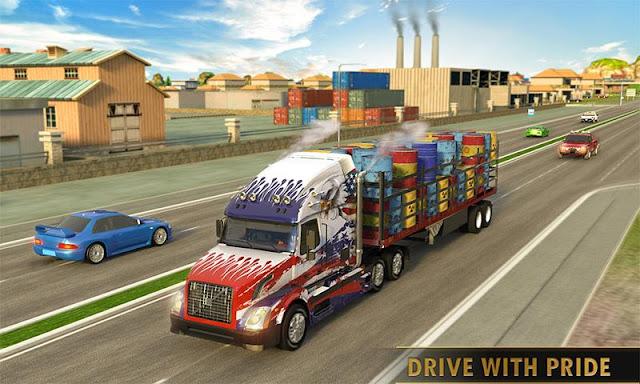 Euro Truck Driving Simulator Transport Truck Games Hileli APK