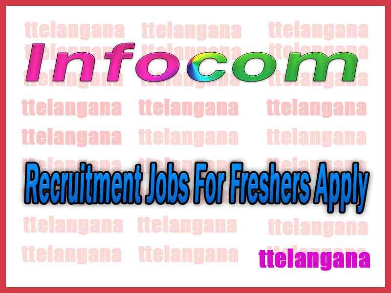 Infocom Recruitment Jobs For Freshers Apply