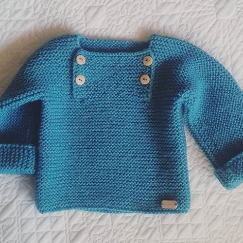 Natural Baby Pullover - Free Pattern