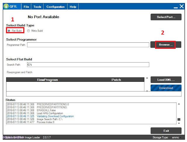 Cara Flash Vivo V7 Terbaru Tested 100% Dengan Mudah Menggunakan Qfill Lengkap Dengan Gambar