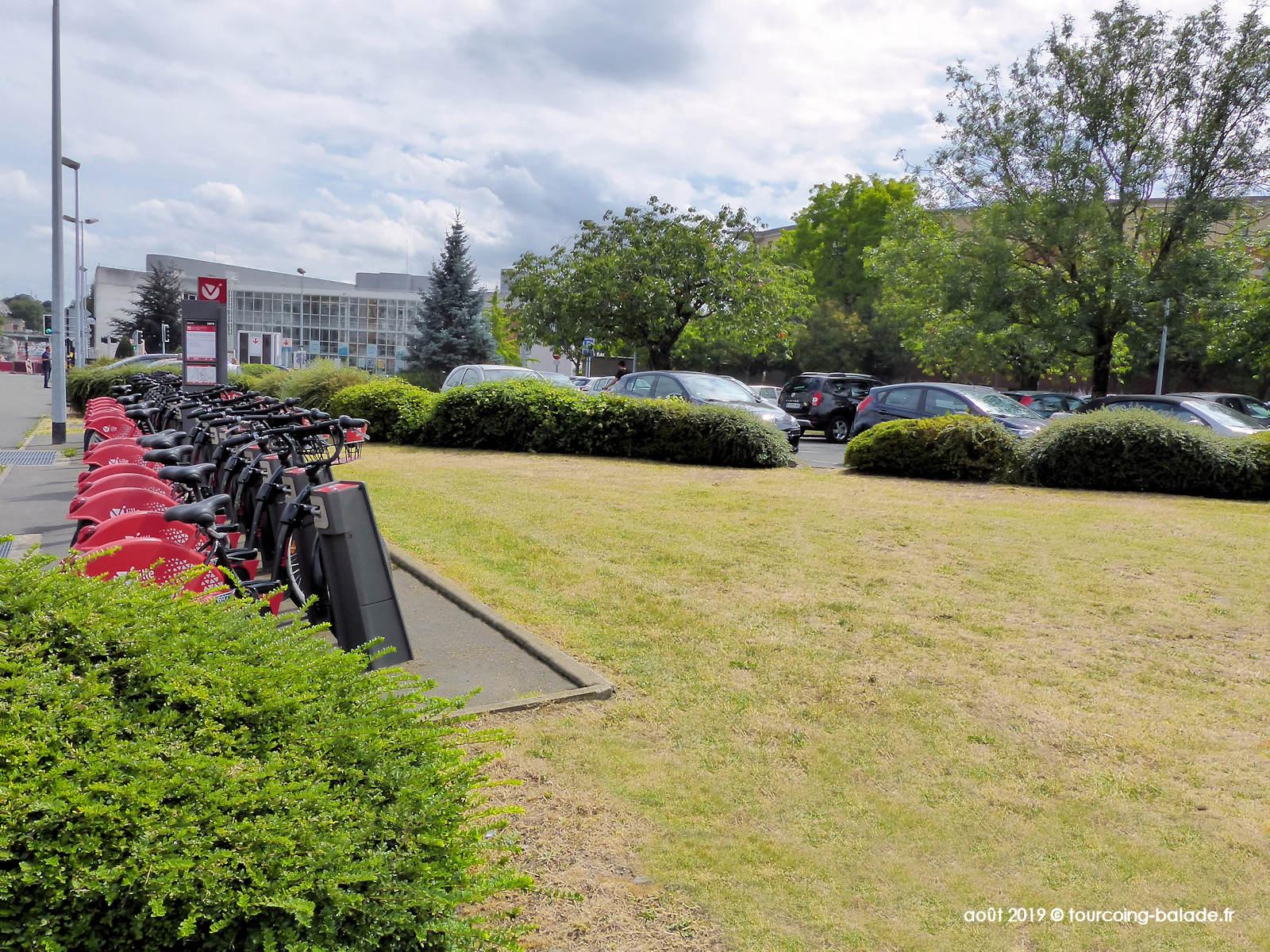 Parking et V'Lille Sébastopol, Tourcoing