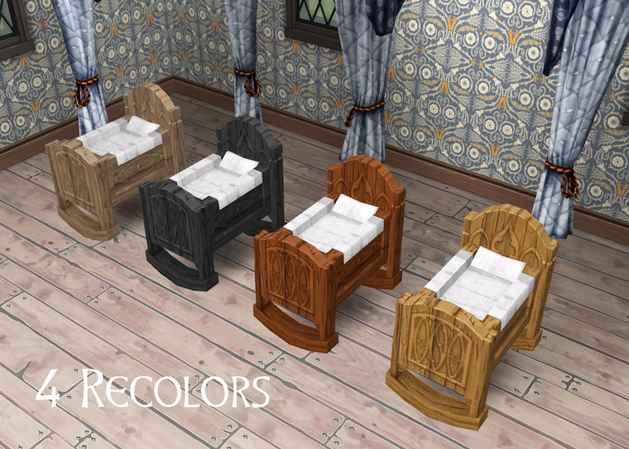 My Sims 4 Blog: Medieval Middle Class Cradle by Historical ...