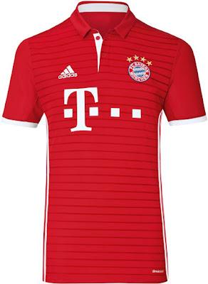 Jual Jersey Bayern Munchen Home 2016-17 Murah