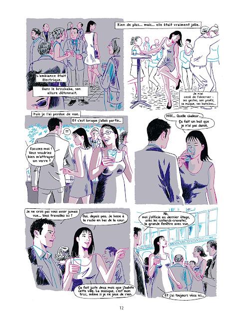 """page de """"POUR LA PEAU"""" de Zac Deloupy et Sandrine Saint-Marc chez Delcourt"""