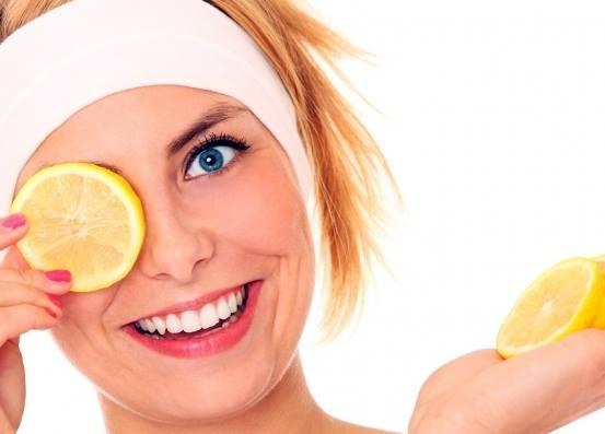 ماسك الليمون لبشرة مشدودة