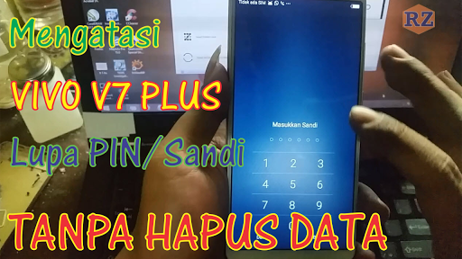 Mengatasi Vivo V7 Plus Lupa Pola, Password/PIN Tanpa Hapus Data